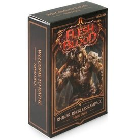 25th Century Games Flesh & Blood Welcome to Rathe Brute Hero Deck