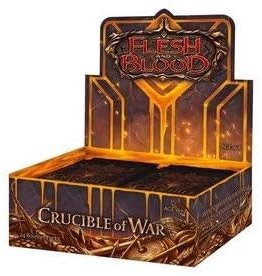 25th Century Games Flesh and Blood Crucible of War Booster Display