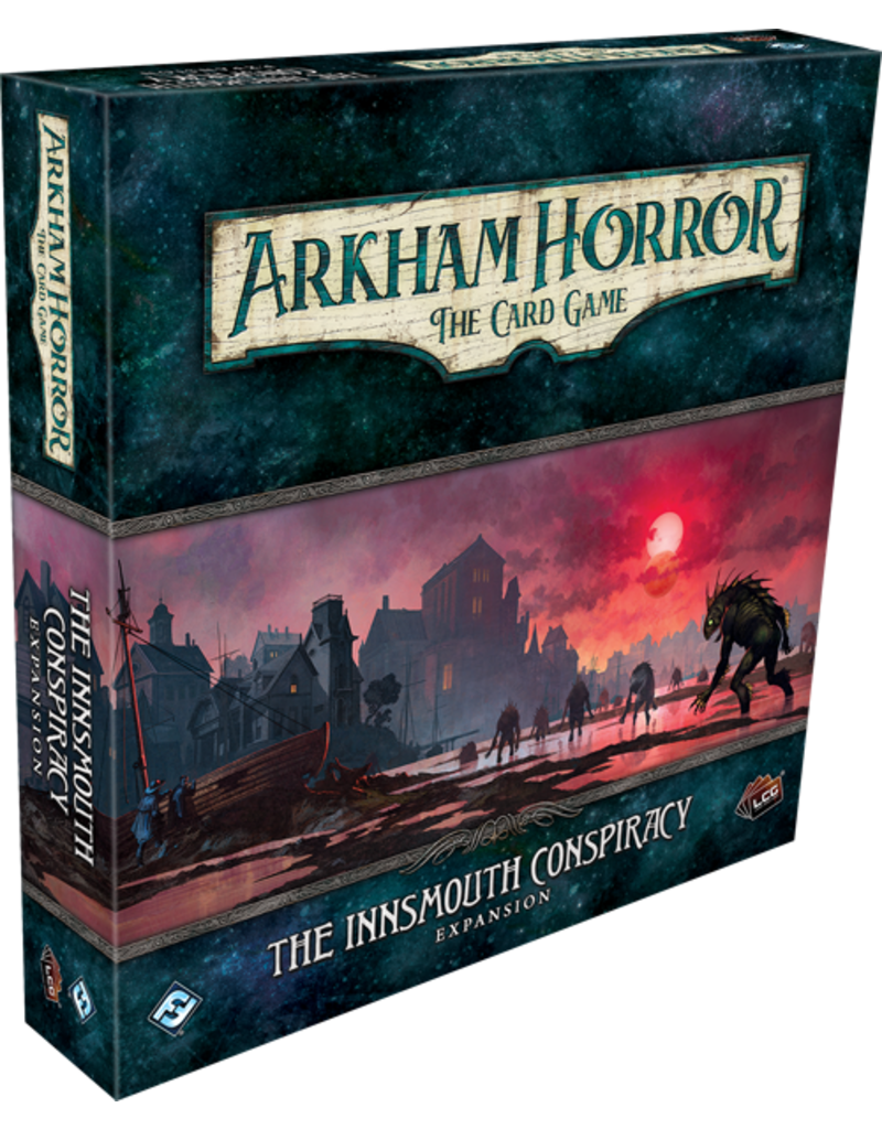 Fantasy Flight Games Arkham Horror The Card Game: The Innsmouth Conspiracy Expansion