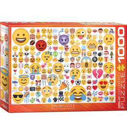 EuroGraphics Emojipuzzle What's your Mood? 1000pc