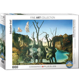 EuroGraphics Swans Reflecting Elephants 1000pc