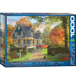 EuroGraphics The Blue Country House 1000pc