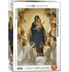 EuroGraphics Virgin with Angels 1000pc