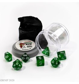 Reaper Pizza Dungeon Lucky Dice: Clear Green