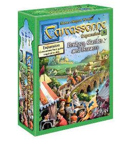 ZMan Games Carcassonne E8 Bridges, Castles and Bazaars