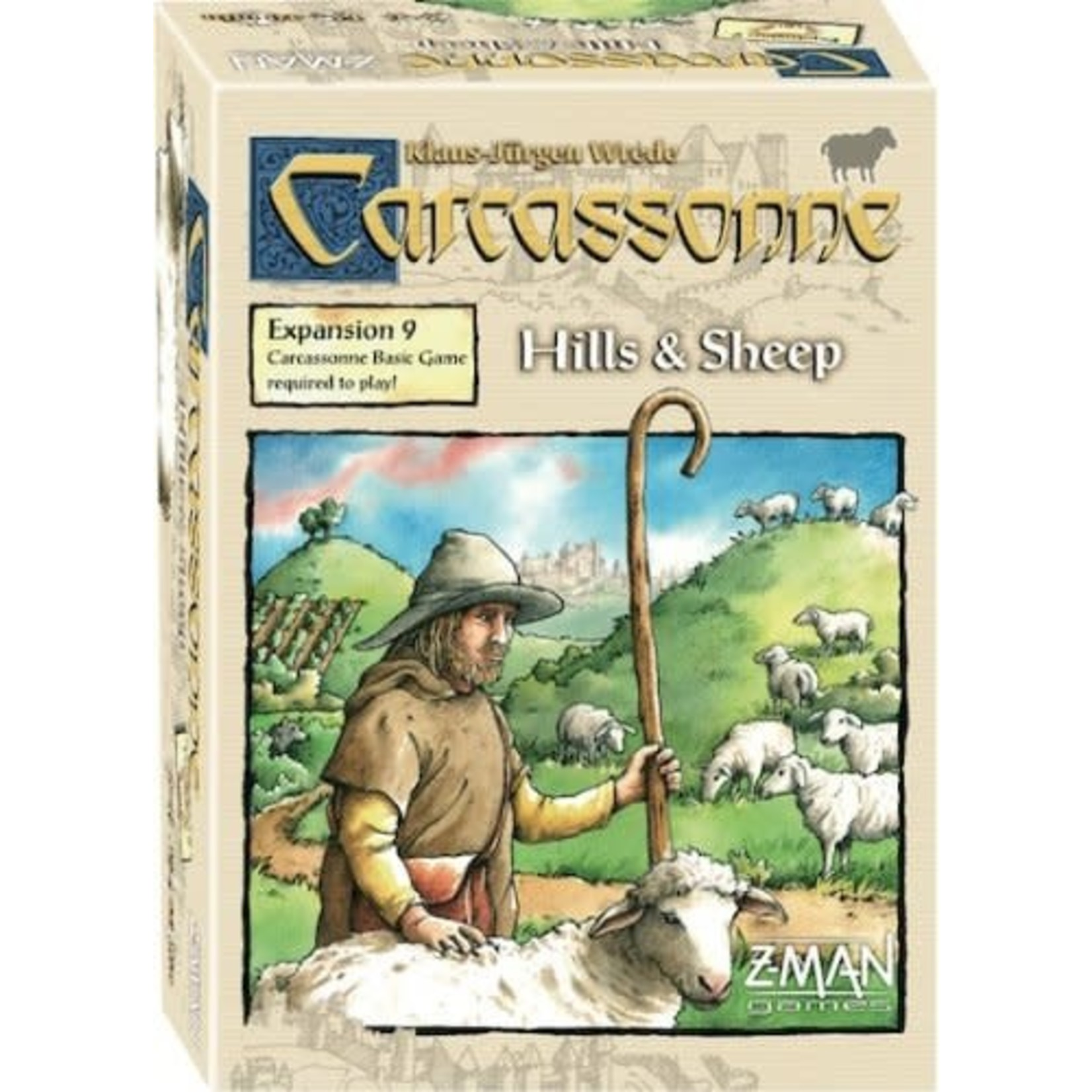 ZMan Games Carcassonne Expansion 9: Hills and Sheep