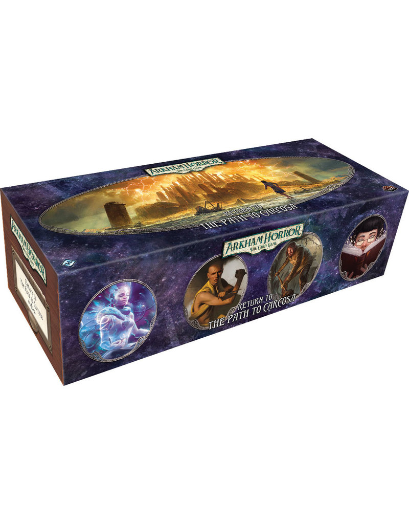 Fantasy Flight Games Arkham Horror The Card Game: Return to the Path to Carcosa Expansion