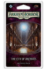 Fantasy Flight Games Arkham Horror The Card Game: The City of Archives Mythos Pack