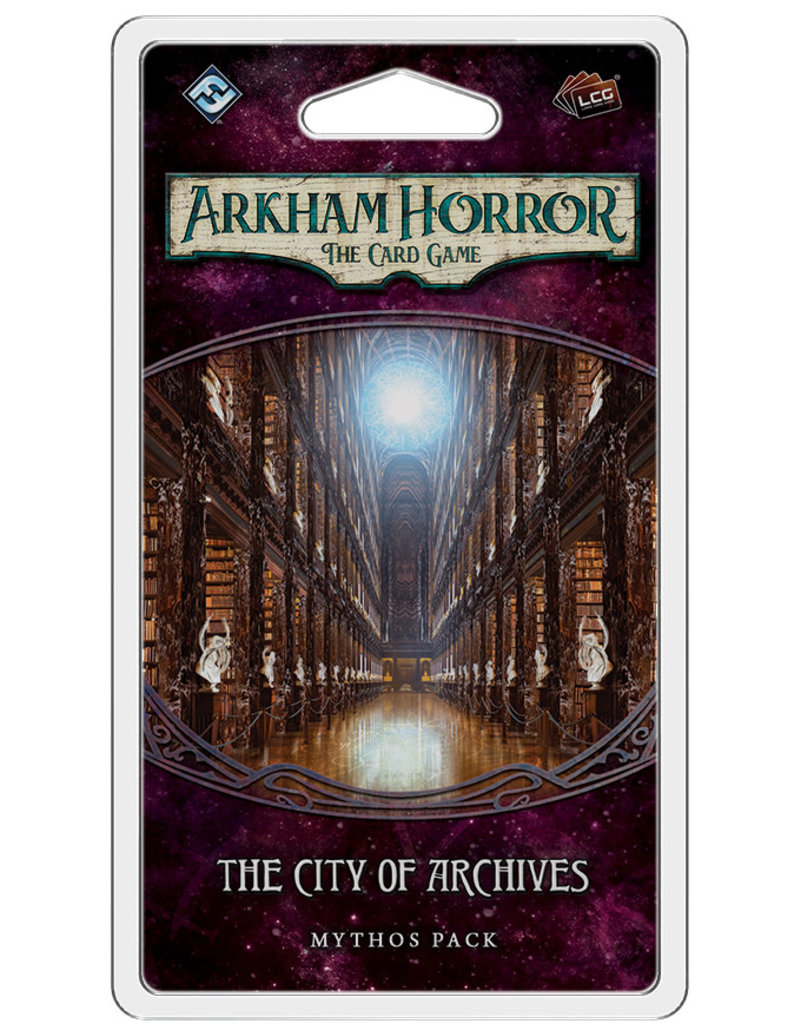 Fantasy Flight Games AH LCG: The City of Archives Mythos Pack