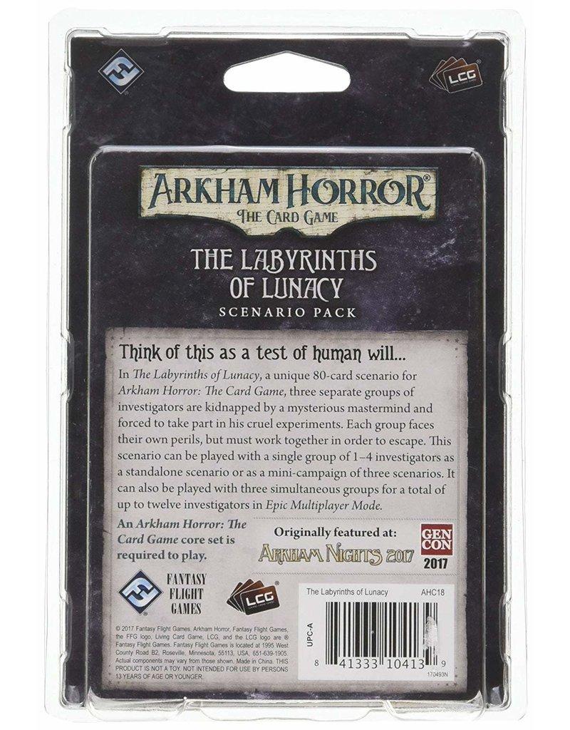Fantasy Flight Games Arkham Horror The Card Game: The Labyrinths of Lunacy