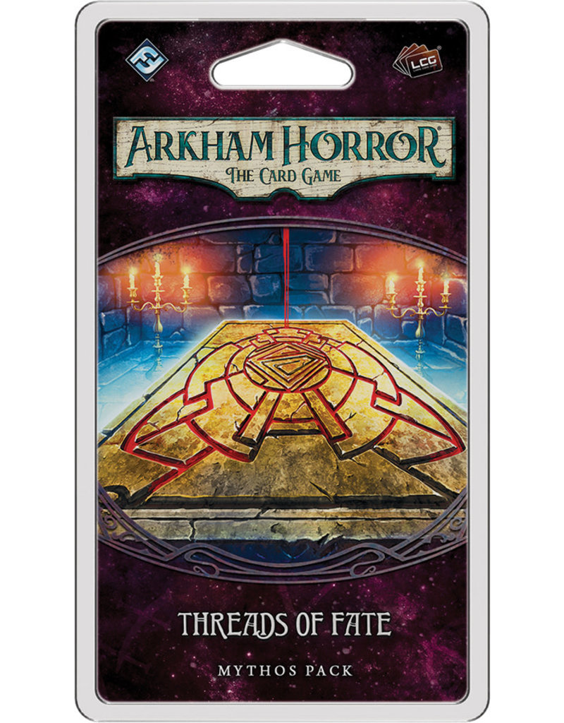 Fantasy Flight Games Arkham Horror The Card Game: Threads of Fate Mythos Pack