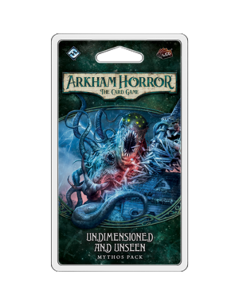 Fantasy Flight Games Arkham Horror The Card Game: Undimensioned and Unseen