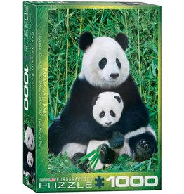 EuroGraphics Panda & Baby 1000pc