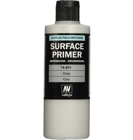 Acrylicos Vallejo Auxiliary Products: Grey Primer (200ml)