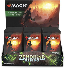 WOTC MTG MTG Zendikar Rising Set Booster Display