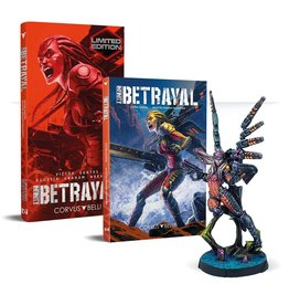 Corvus Belli S.L.L. Infinity Betrayal Graphic Novel Limited Edition