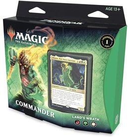 WOTC MTG MTG Zendikar Rising Land's Wrath Commander Deck
