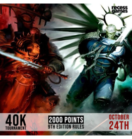 Recess 40k Tournament - October 24th, 2020