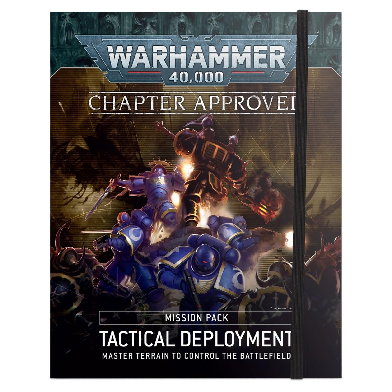 Games Workshop 40K Tactical Deployment Mission Pack
