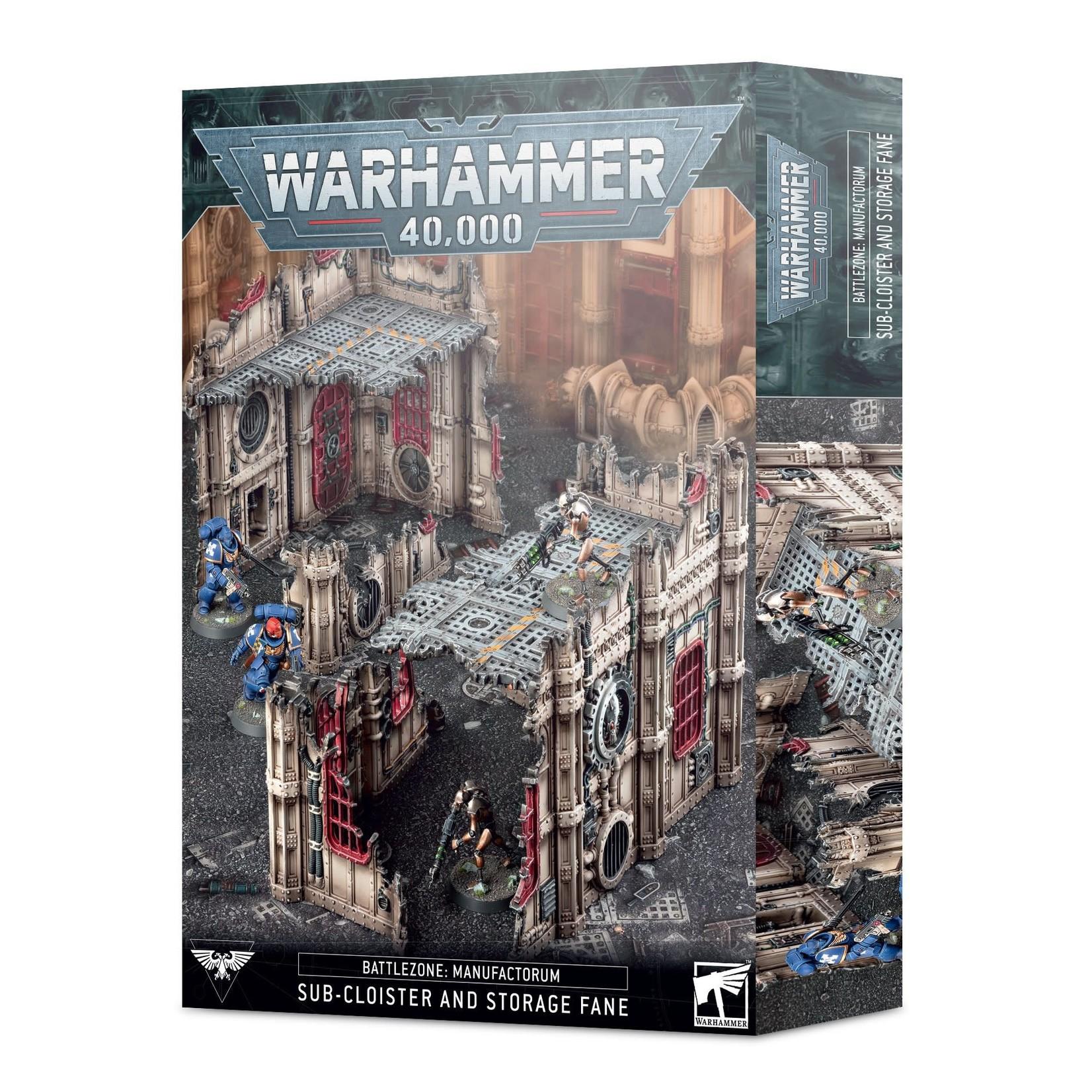 Games Workshop Battlezone Manufactorum Sub-Cloister & Storage Fane