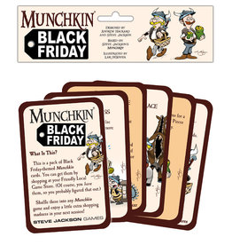 Steve Jackson Games Munchkin Black Friday