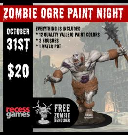 WIZKIDS/NECA Zombie Ogre Paint Night