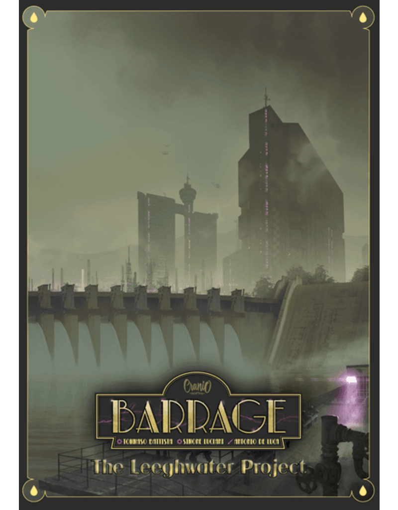 Asmodee Studios Barrage: The Leeghwater Project Expansion
