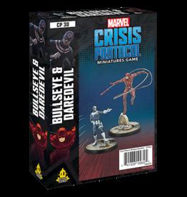 Atomic Mass Games MCP Bullseye and Daredevil