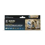 Acrylicos Vallejo WizKids Premium Paints: Protectors of Virtue