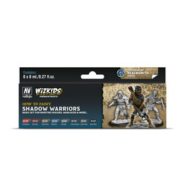 Acrylicos Vallejo WizKids Premium Paints: Shadow Warriors