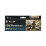 Acrylicos Vallejo WizKids Premium Paints: Woodland Creatures
