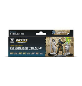 Acrylicos Vallejo WizKids Premium Paints: Defenders of the Wild