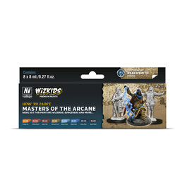 Acrylicos Vallejo WizKids Premium Paints: Masters of the Arcane