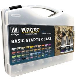 Acrylicos Vallejo WizKids Premium Paints: Basic Starter Case