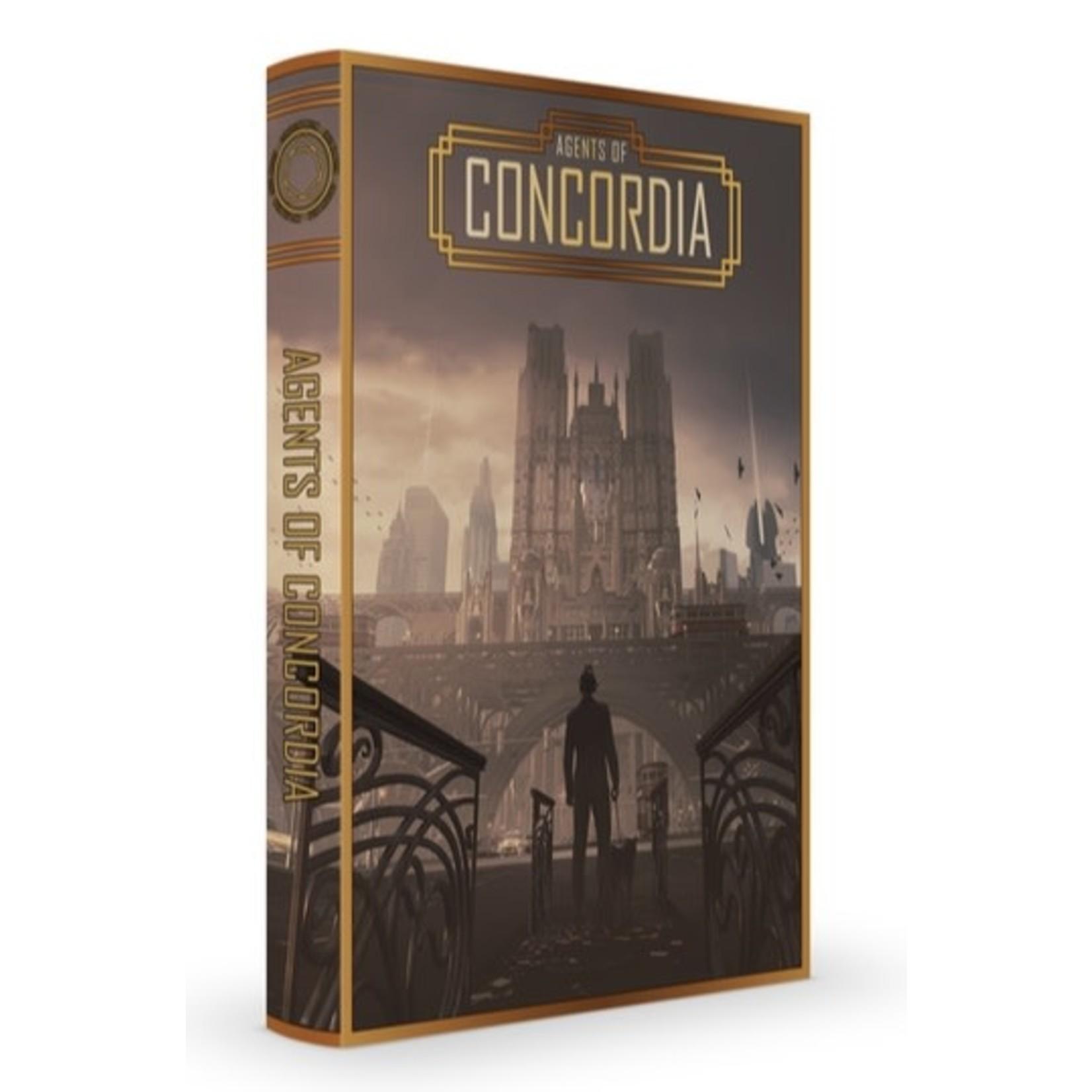 Modiphius Agents of Concordia