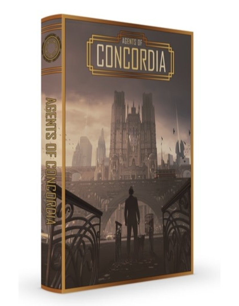 Modiphius Agents of Concordia