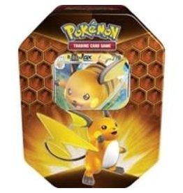 Pokemon USA Hidden Fates Tins Pokemon Raichu