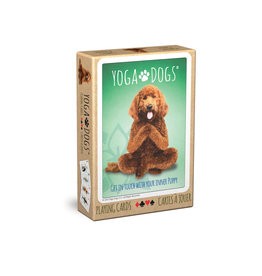 EuroGraphics Yoga Dogs Playing Cards