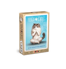EuroGraphics Yoga Cats Playing Cards
