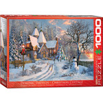 EuroGraphics Christmas Cottage 1000pc
