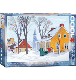 EuroGraphics Winter Morning in Baie-St-Paul 1000pc