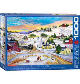 EuroGraphics T'is the Season 1000pc