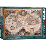 EuroGraphics Orbis Geographica World Map 1000pc
