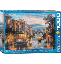 EuroGraphics San Francisco Cable Car Heaven 1000pc