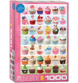 EuroGraphics Cupcake Celebration 1000pc