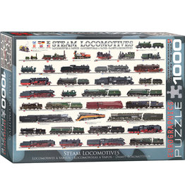 EuroGraphics Steam Locomotives 1000 pc