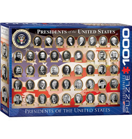 EuroGraphics Presidents of the United States 1000pc