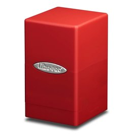 Ultra Pro DB: Satin Tower Red