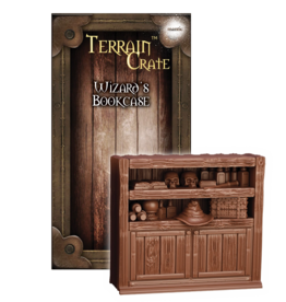 Mantic Entertainment TerrainCrate: Wizard's Bookcase