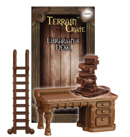 Mantic Entertainment TerrainCrate: Librarian's Desk